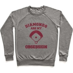 Diamonds are my Obsession Pullover from LookHUMAN