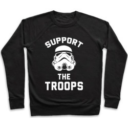 Support The Troops Pullover from LookHUMAN found on Bargain Bro Philippines from LookHUMAN for $34.99