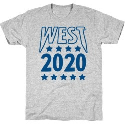 West 2020 T-Shirt from LookHUMAN