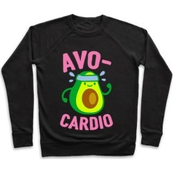 Avocardio Avocado Pullover from LookHUMAN