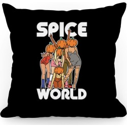 Spice World Pumpkin Spice Throw Pillow from LookHUMAN