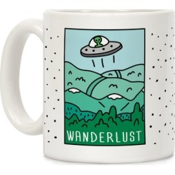 Wanderlust Mug from LookHUMAN