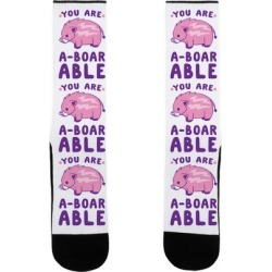 You are Aboarable Socks from LookHUMAN