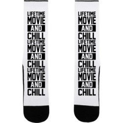 Lifetime Movie and Chill Socks from LookHUMAN found on Bargain Bro from LookHUMAN for USD $15.19