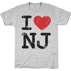I Love New Jersey T-Shirt from LookHUMAN