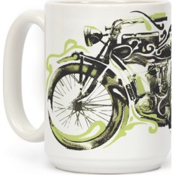Vintage Motorbike Mug from LookHUMAN found on Bargain Bro Philippines from LookHUMAN for $17.99