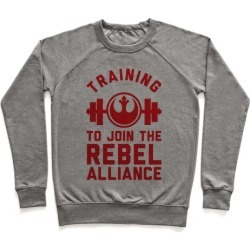 Training To Join The Rebel Alliance Pullover from LookHUMAN found on Bargain Bro Philippines from LookHUMAN for $34.99