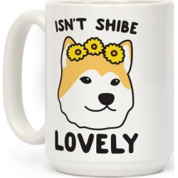 Isn't Shibe Lovely? Shiba Ibu Mug from LookHUMAN