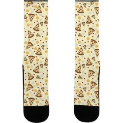 Pizza Pattern Socks from LookHUMAN