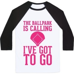 The Ballpark Is Calling Baseball Tee from LookHUMAN found on GamingScroll.com from LookHUMAN for $29.99