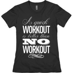 A Quick Workout T-Shirt from LookHUMAN