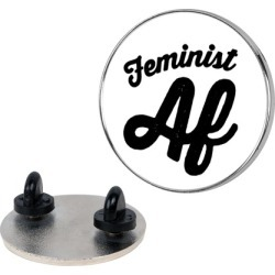 Feminist Af Pin from LookHUMAN found on Bargain Bro Philippines from LookHUMAN for $13.99