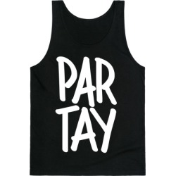 PAR-TAY Tank Top from LookHUMAN