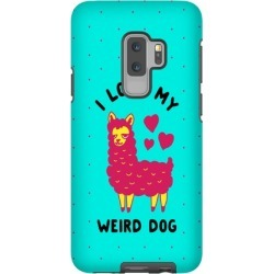 I Love My Weird Dog Phone Case from LookHUMAN