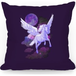 Pegasus Pillow Throw Pillow from LookHUMAN found on Bargain Bro Philippines from LookHUMAN for $37.99