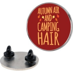 Autumn Air And Camping Hair Pin from LookHUMAN