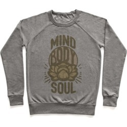 Mind Body Soul Pullover from LookHUMAN found on Bargain Bro Philippines from LookHUMAN for $34.99