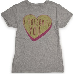 I Tolerate You T-Shirt from LookHUMAN found on Bargain Bro India from LookHUMAN for $21.99