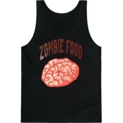 Zombie Food Tank Top from LookHUMAN