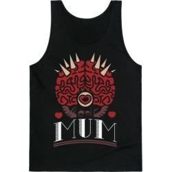 Mum Brain Love Tank Top from LookHUMAN