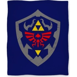 Hylian Shield Blanket Blanket from LookHUMAN