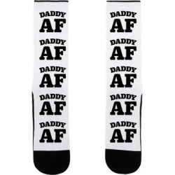 Daddy AF Socks from LookHUMAN