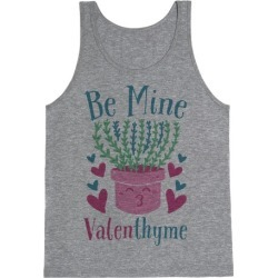 Be Mine, Valenthyme Tank Top from LookHUMAN found on MODAPINS from LookHUMAN for USD $25.99