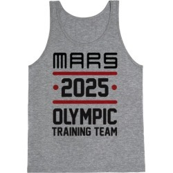 Mars Olympics Tank Top from LookHUMAN