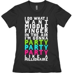 Party Party Party T-Shirt from LookHUMAN