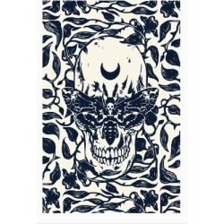 Skull Moth Poster from LookHUMAN