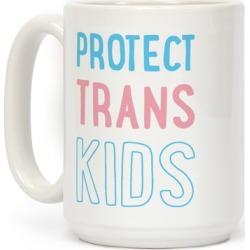 Protect Trans Kids Mug from LookHUMAN