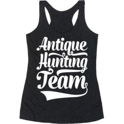 Antique Hunting Team Racerback Tank from LookHUMAN found on Bargain Bro Philippines from LookHUMAN for $25.99