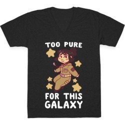 Too Pure For This Galaxy - Rose Tico V-Neck T-Shirt from LookHUMAN