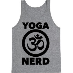 Yoga Nerd Tank Top from LookHUMAN