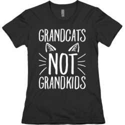 Grandcats Not Grandkids T-Shirt from LookHUMAN