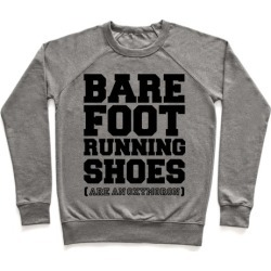 Barefoot Running Pullover from LookHUMAN