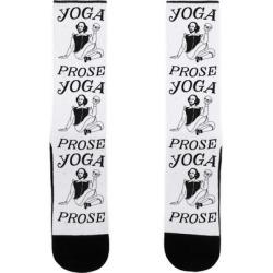 Yoga Prose Socks from LookHUMAN