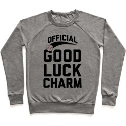 Baseball Good Luck Charm Pullover from LookHUMAN