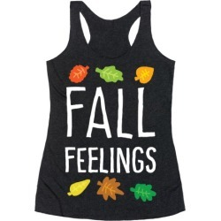 Fall Feelings Racerback Tank from LookHUMAN found on Bargain Bro Philippines from LookHUMAN for $25.99