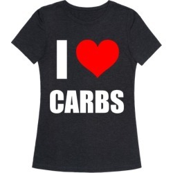I Heart Carbs T-Shirt from LookHUMAN