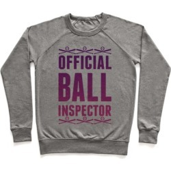 Official Ball Inspector Pullover from LookHUMAN