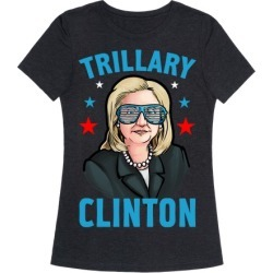 Trillary Clinton T-Shirt from LookHUMAN