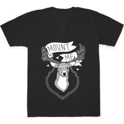 Mount Me V-Neck T-Shirt from LookHUMAN found on Bargain Bro Philippines from LookHUMAN for $27.99