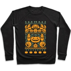 Ugly Pumpkin Sweater Pullover from LookHUMAN