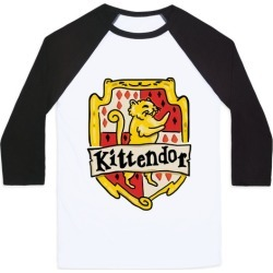 House Cats Kittendor Baseball Tee from LookHUMAN