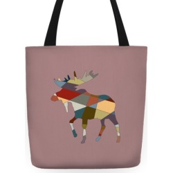 Moose Tote Tote Bag from LookHUMAN