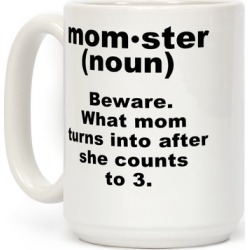 Momster Definition Mug from LookHUMAN