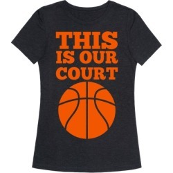 This Is Our Court (Basketball) T-Shirt from LookHUMAN