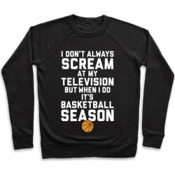 Basketball Season Pullover from LookHUMAN
