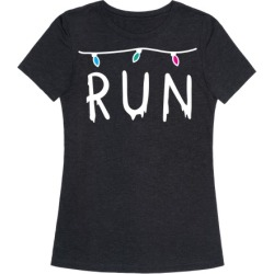 Run Stranger Things T-Shirt from LookHUMAN
